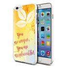 Irreplaceable Design Shockproof Hard Case Cover For Mobiles