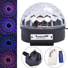 Sound Active LED Light Laser RGB Stage Effect Club Disco DJ Party Bar Projector