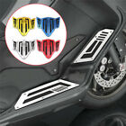 CNC Aluminum Motorcycle Footrest Footpeg Plates Pedal Pads For Yamaha tmax530