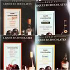 DARK CHOCOLATE LIQUEURS VARIOUS FLAVOURS - CHRISTMAS STOCKING FILLER OR GIFT