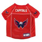 NEW WASHINGTON CAPITALS DOG PET PREMIUM JERSEY w/NAME TAG LE $16.14 USD on eBay