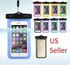 Waterproof Dry Pouch Bag Case Cover For All Cell Phone, Smart Phones