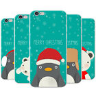 Merry Christmas Snowflakes Snap-on Hard Back Case Phone Cover for Apple Phones