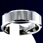 New Mens Anniversary Tungsten Carbide Wedding Band Engagement Bridal Ring
