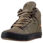 Supra Vaider Cw Mens Olive Leather Casual Trainers Lace-up Genuine Shoes