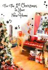 traditional FOR YOUR 1ST CHRISTMAS IN YOUR NEW HOME Christmas card house first