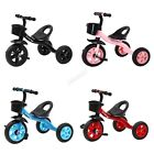 FoxHunter Kids Child Children Trike Tricycle 3 Wheeler Bike Steel Frame Toy New