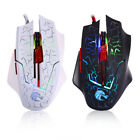 5500 DPI 7 Buttons LED Backlit Optical USB Wired Gaming Mouse Mice For Gamer BT