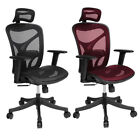 On Sale Ergonomic High Back Executive Computer Desk Task Office Chair Black/Red@