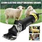 320w ELECTRIC SHEEP GOAT ALPACA PRO ANIMAL GROOMER CLIPPERS WOOL SHEARING SHEARS