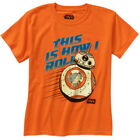 STAR WARS BORN TO ROLL Boy/Youth's Licensed T-Shirt $8.99 USD on eBay