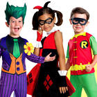 Classic Comic Book Batman Characters Kids Fancy Dress DC Book Childrens Costume