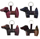 Earth Squared Tweed Daschund Dog Keyring – choice of colours