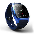 Bluetooth Waterproof Mate Wrist Smart Watch For Android Samsung HTC  iPhone iOS