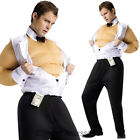 CL768 Fat Suit Male Stripper Hens Night Funny Toy Boy Fancy Dress Costume Outfit