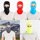 Men Outdoor Motorcycle Full Face Mask Balaclava Winter Ski Neck Black Protection