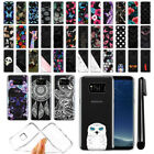 "For Samsung Galaxy S8 G950 5.8"" AT&T Ultra Thin Clear TPU Case Phone Cover + Pen"