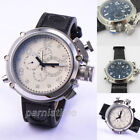 50mm Parnis Automatic Men's Russian Mechnical Watch 24-Hours Month Day Date Gift