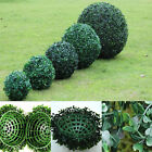 Green Outdoor Artificial Plant Ball Tree Boxwood Wedding Event Xmas Party Decor