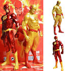 Cute Barry Allen Superhero Justice League PVC Dolls The Flash Model Hero Decor
