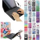 For Samsung Galaxy Tab A A6 10.1 USB Andriod Tablet Keyboard Case Cover Flip