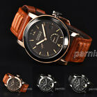 44mm Parnis Power Reserve Automatic Movement Men Watch Luminous No. Small Second