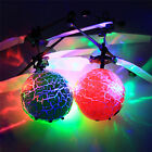 Charm Electric RC Fly Ball Infrared Aircraft Flash LED Light Mini Remote Toy