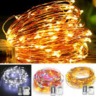 [Remote, Timer] Outdoor LED Fairy String Lights Battery Operated, 33 Feet, PRO