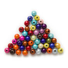 Random Mixed Miracle Acrylic Round Shaped Spacer Beads Jewelry Making 4-16mm
