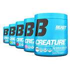 Beast Creature Creatine: Extreme Performance Enhancer, Muscle Builder, 60srv