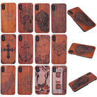 100% Natural Wooden Wood Bamboo Phone Case Cover Skins For Apple iPhone X 10