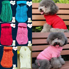 Cat Dog Pet Winter Clothes Warm Sweater Knitwear Pullover Puppy Jacket Apparel