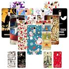 """For ZTE Blade A602 BA602 5.5"""" Christmas Soft TPU Case Cover 2018 New Year Tower"""