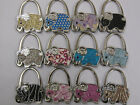 CHOICE OF STUNNING ELEPHANT SHAPED PRETTY HANDBAG HOOK HOLDERS 2 IN 1 ACCESSORY