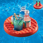4 Holes Foam Floating Fruit Drink Cup Holder Portable Pool Tray for Water Fun