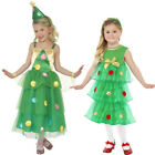 GIRLS CHRISTMAS TREE TUTU DRESS CHOOSE FROM CHILDS FESTIVE FANCY DRESS COSTUME