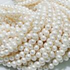 """Natural Freshwater Pearl Freeform Loose Charm Beads 14"""" 7- 8mm"""