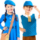 Wartime Fancy Dress History 30s 40s Book Day Week Girls Boys Childrens Costumes