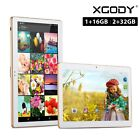 White 10.1'' IPS Dual SIM 3G Phablet Tablet PC Android 4.4 16GB/32GB Bluetooth