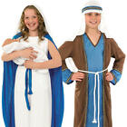 Nativity Kids Fancy Dress Festive Xmas Christmas Play Religious Childs Costumes