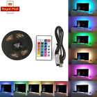 1M-5M SMD 5050 RGB LED Strip Lights Waterproof Colour Changing + Remote Control
