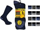 12 Mens ERBRO® Cotton Rich HARD WEARING Ultimate Work Socks UK 6-11