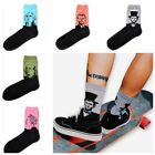 Hot Vintage Women Men Funny Art Painting Cotton Crew Socks Long Ankle Socks