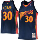 Golden State Warriors Stephen Curry Mitchell Ness Navy Rookie Authentic Jersey
