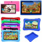 "7"" Kids Tablet PC Google Android Quad Core 16GB WIFI HD Dual Camera Tie up together Case"