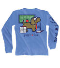 Puppie Love Teacher's Pup Help Rescue Dogs Long Sleeve Tee