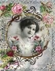 Whimsy Dust Victorian Lady Quilt Block Multi Szs FrEE ShiP WoRld Wide (W15