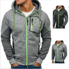 HOT Men's Outwear Sweater Winter Hoodie Warm Coats Jacket Slim Hooded Sweatshirt