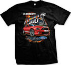 GT 500 Shelby Cobra Sports Car Engine Fast Automotive Mens T-shirt