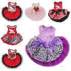 Pets Happy Valentine's Day Tutu Dress Dogs Clothes